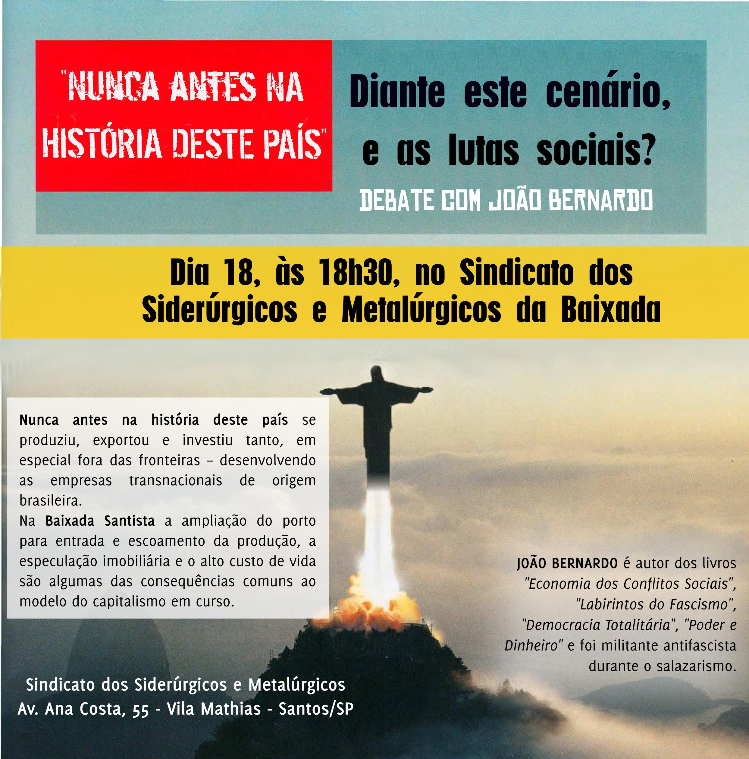 Debate com João Bernardo