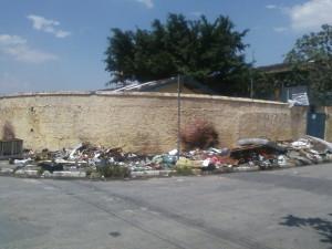 Cruzamento entre a rua Vale do pó e a rua Polidoro na Vila Margarida