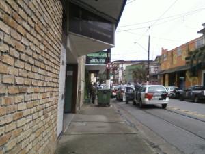 Moradores de rua sendo averiguados