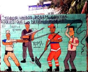 Arte do artista do RJ ; Roma Street Art